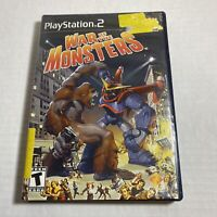 PS2 Game - War Of The Monsters - Video Game FREE SHIPPING Playstation 2