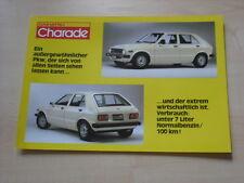 54452) Daihatsu Charade Prospekt 198?