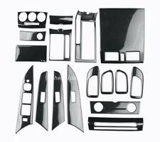17PCS Carbon fiber style Car interior kit Cover Trim For Mazda 3 2006-2013