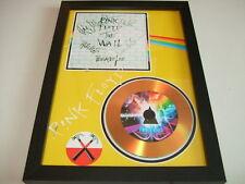 PINK FLOYD    SIGNED GOLD CD  DISC  43