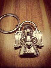 Schutzengel Schlüsselanhänger mit Gravur Wunschname