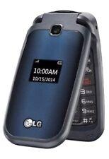 LG B450 - Blue (T-Mobile) Beautiful & Reliable Basic Flip Phone - Open Box