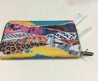 Lesportsac Foundations Taylor Zip Around Organizer Wallet Y2K College Colorful