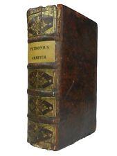 THE SATYRICON + TRAGURIAN FRAGMENT   PETRONIUS ARBITER   1669-71