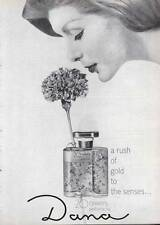 "1963 Dana ""20 Carats"" Perfume Vintage Bottle PRINT AD"