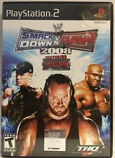WWE SmackDown vs. Raw 2008 Featuring ECW (Sony PlayStation 2, Ps2 2007)
