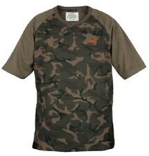 Fox NEW Carp Fishing Chunk Camo T-Shirt