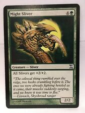 Might Sliver MTG Time Spiral Single Card NM