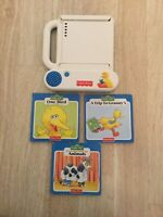 Fisher Price Sesame Street 1994 Rare Storybook With 3 Books Included