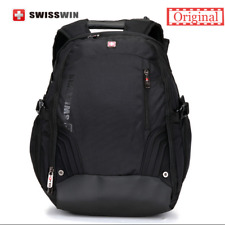 "SWISSWINSwiss Backpack/Travel Backpack/School Backpack SW8535 Black 17"" Laptop"