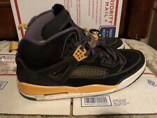 Mens 2012 Nile Air Yellow Jordan Spizike Black University  Gold Yellow 13