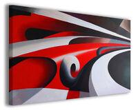 Quadro moderno famoso Tullio Crali vol V stampa su tela canvas arredo poster