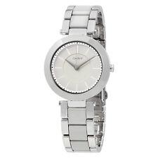 DKNY Stanhope Grey Ceramic Dial Ladies Watch NY2462