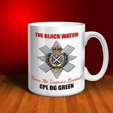 The Black Watch Personalised Ceramic Mug Gift