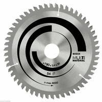 Bosch Circular Mitre/Table Saw Blades Multi Material Cut DeWalt Makita 30mm Bore