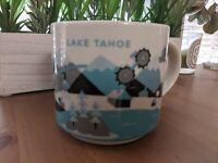 Starbucks Lake Tahoe You Are Here Collection Coffee Mug Tea Cup 14oz 2013