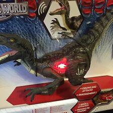 Jurassic World Velociraptor 'Blue' Dinosaur New Toy Jurassic Park Sound & Light