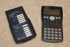 Casio Fx-300Ms two-way power Scientific Calculator clean tested works black