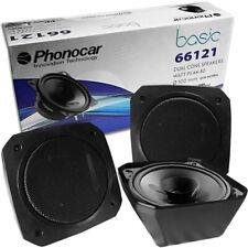Phonocar Retro Aufbau Lautsprecher Boxen für Transporter Auto Oldtimer Camping