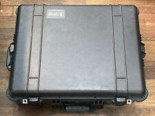 Pelican 1610 Hard Case Black Waterproof with Wheels & Telescoping Handle