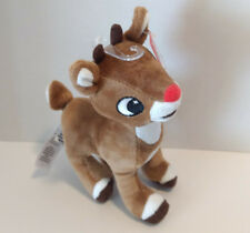 "Rudolph The Red-Nosed Reindeer 6"" Plush Christmas Holiday Stuffed Toy"