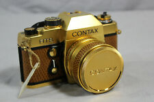 Contax RTS + Planar T* 50mm F/1.4 Lens Gold Limited Edition 35mm Camera in Case