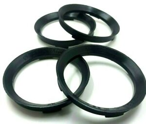 4 x Spigot Rings for BMW Wheels To Vivaro Van 4 X 72.6 - 71.1 TUV APPROVED (131)
