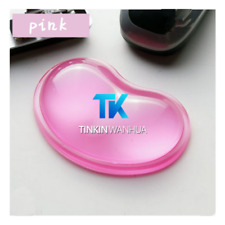 Gel Wrist Wavy Mouse Pad Support for Desktop Laptop Computer Accessories Pink