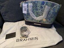 NWT Brahmin Duxberry Satchel in Green Viper Mackay