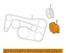 Mercedes MERCEDES-BENZ OEM E350-Serpentine Drive Fan Belt Tensioner 2762000370