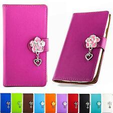 Strass Handy Tasche Schutz Hülle Flip Cover Klapp Etui Style Design Case B304
