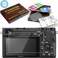 9H Hard Tempered Glass LCD Screen Protector film Cover Skin For Sony Alpha A6300