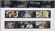 2014 Great British Film Stamps including M/S Royal Mail Presentation Pack no.498