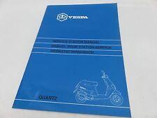 OEM Piaggio QUARTZ Service Station Manual
