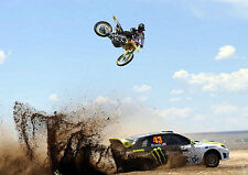 KEN Block MONSTER ENERGY MOTOCROSS MOTO Photo Poster Stampa A4 260GSM