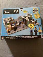 Nbc phatmojo The Office Dunder Mifflin Non Lego Building Block Set Nib