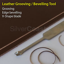 Pro coutures groover / edge beveller Cuir Artisanat Outil