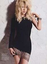 Shakira 9pg + cover ELLE magazine feature, clipping