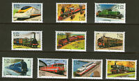 SERIE TIMBRES 3405-3414 NEUF XX LUXE - LOCOMOTIVES LEGENDES DU RAIL