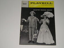 Vintage 1959 Playbill Destry Rides Again Imperial Theatre Playbills