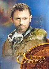 THE GOLDEN COMPASS 2007 INKWORKS PROMO CARD GC-UK DANIEL CRAIG