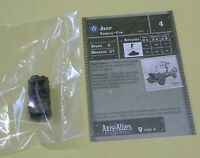 Axis & Allies Miniatures Base Set Jeep #17/48 NEW One 1 A&A