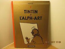 Tintin et l'Alph-Art 2004 avec tirage planches 1 et 2 TTBE