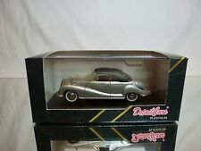 DETAILCARS 243 BMW 502 CABRIOLET - SILVER 1:43 - GOOD CONDITION IN BOX