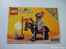 LEGO Notice Instruction / 6009 Black Knight
