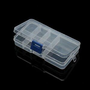 7slots Jewelry Box Plastic Storage Craft Organizer Diy Beads Making Packaging Bo