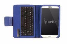 Poetic KeyBook Blue【Bluetooth Keyboard】Case For Samsung Galaxy Tab 3 8.0 Tab