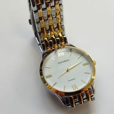 Aluminium Case Gold Plated Strap Adult Wristwatches