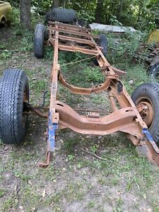 1955 1956 1957 1958 1959 Chevy Chevrolet GMC Truck Shortbed Frame & Suspension