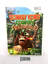 WII JEU VIDEO DONKEY KONG COUNTRY RETURNS - MANQUE NOTICE  - BOITE ENDOMMAGEE